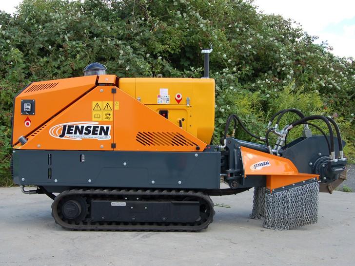Jensen SCX 50D rodfræser | 3rod.dk