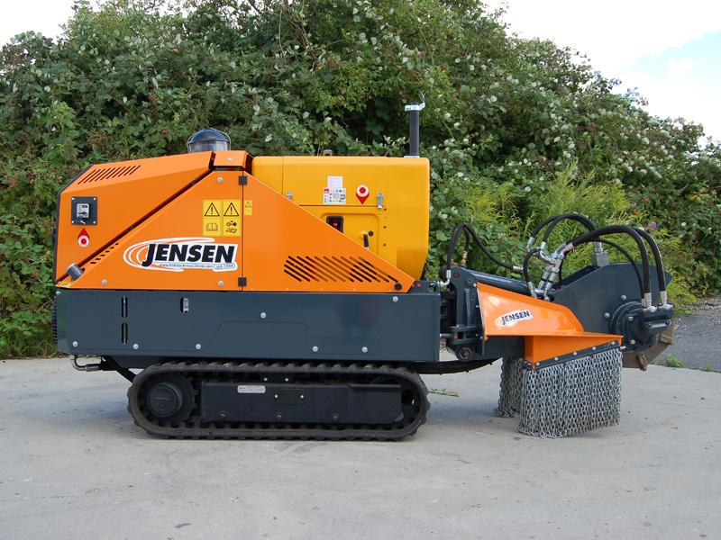 Jensen SCX 50 D rodfræser | www.3rod.dk