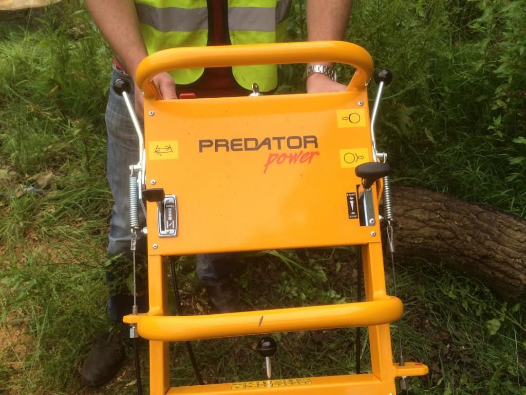 Predator 460 rodfræser på hjul | www.3rod.dk