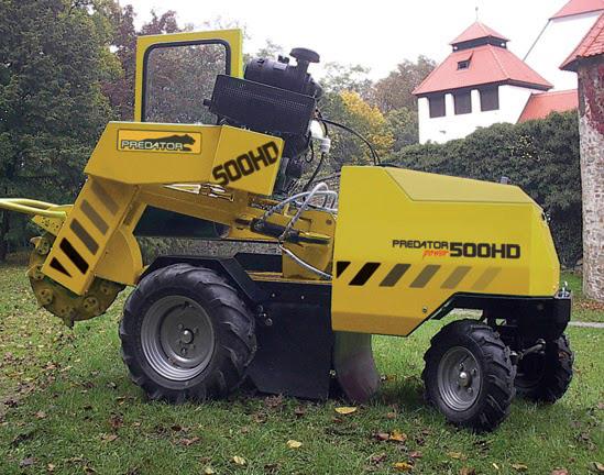 Predator 500 rodfræser på hjul | www.3rod.dk