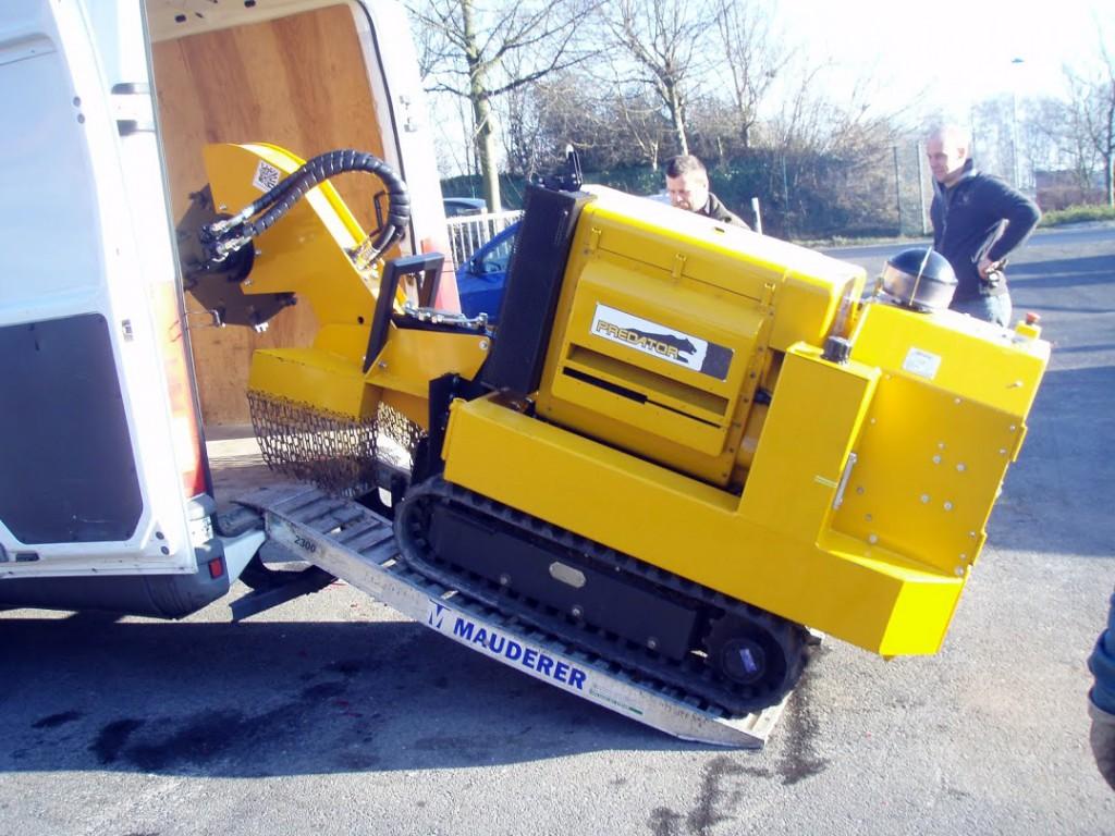 Predator 6589 rodfræser | www.3rod.dk
